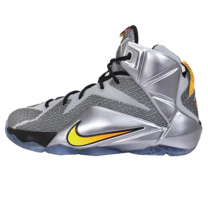Nike Lebron XII GS 12 Instinct Youth Boys Girls Basketball Shoes 685181-080  (6. 5Y)  Buy Online at Low Prices in India - Amazon.in 767a49b9d892