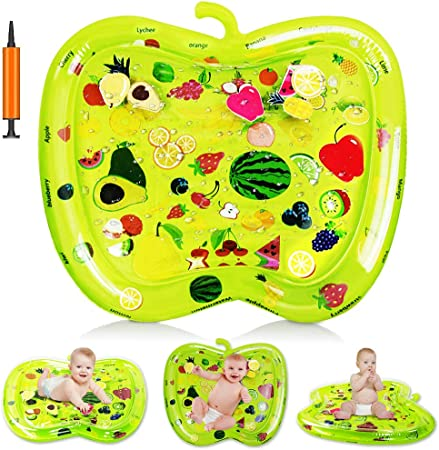 Stimulate Babys Imagination Baby Toys 3-6 Months Kids Education Toys No Odor Healthy and Eco Friendly Materials Baby Water Mat,Enhance Babys Creative Tummy Time Water Playmat