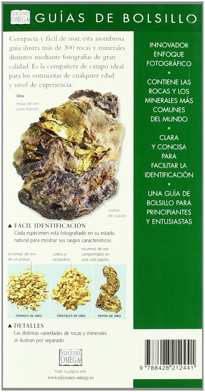 Rocas Y Minerales. Guia De Bolsillo: M.;WALSH, K. PRICE: 9788428212441: Amazon.com: Books