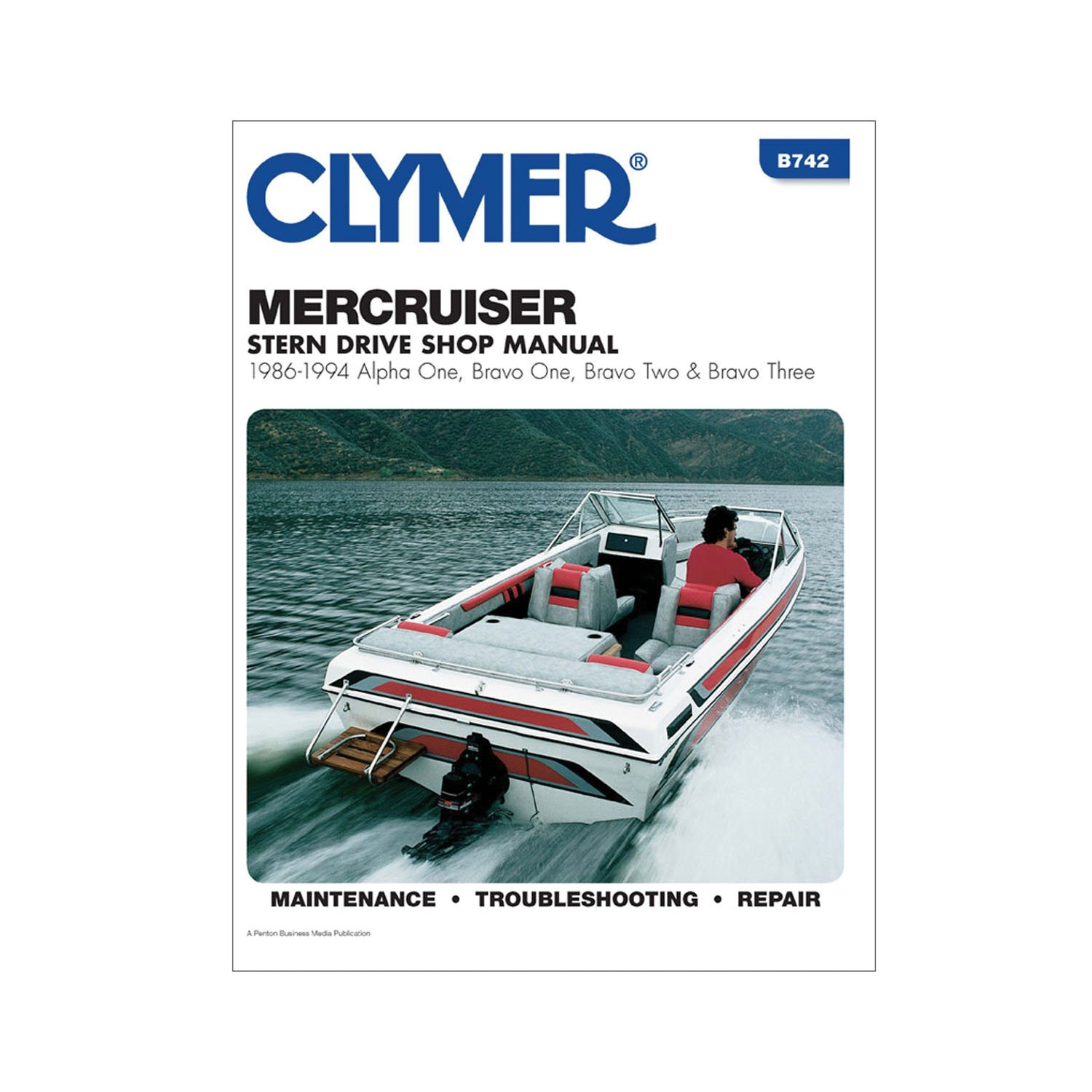 Amazon.com: Clymer MerCruiser Alpha One, Brave One, Two & Three Stern  Drives 1986-1994: Manufacturer: Sports & Outdoors