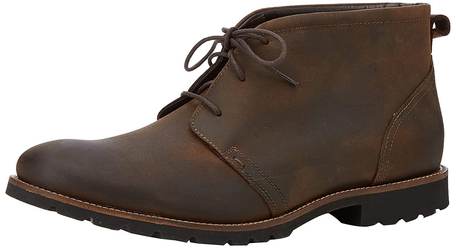 TALLA 47.5 EU. Rockport Modern Break Chukka Brown, Botas Hombre
