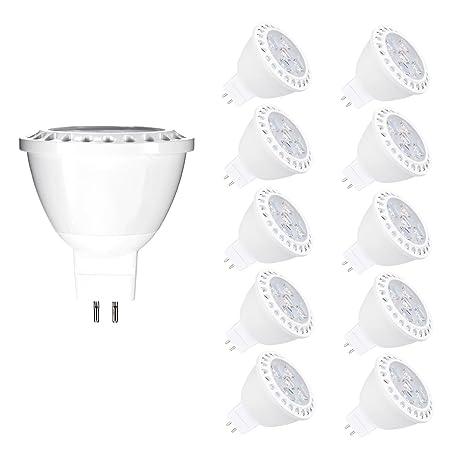 Bombillas LED MR16, Vlio 6 W GU5.3, bombillas halógenas de 50 W, equivalente a 12 ...