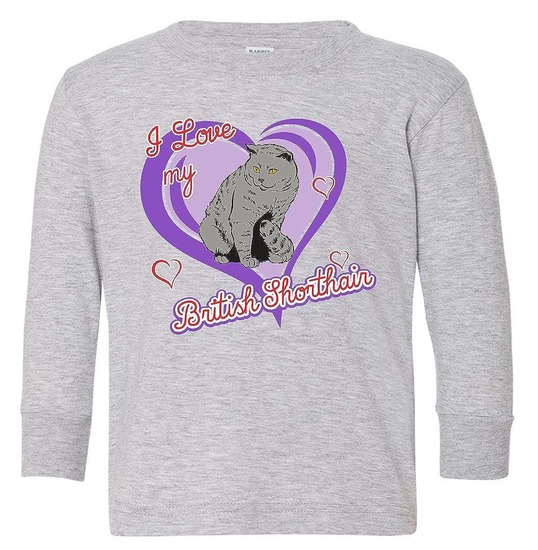 Tenacitee Babys British Shorthair Cat Shirt