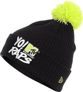 New Era HERO SCRIPT KNIT YO! MTV RAPS BEANIE black lime green  Amazon.co.uk   Clothing 874a8a820040