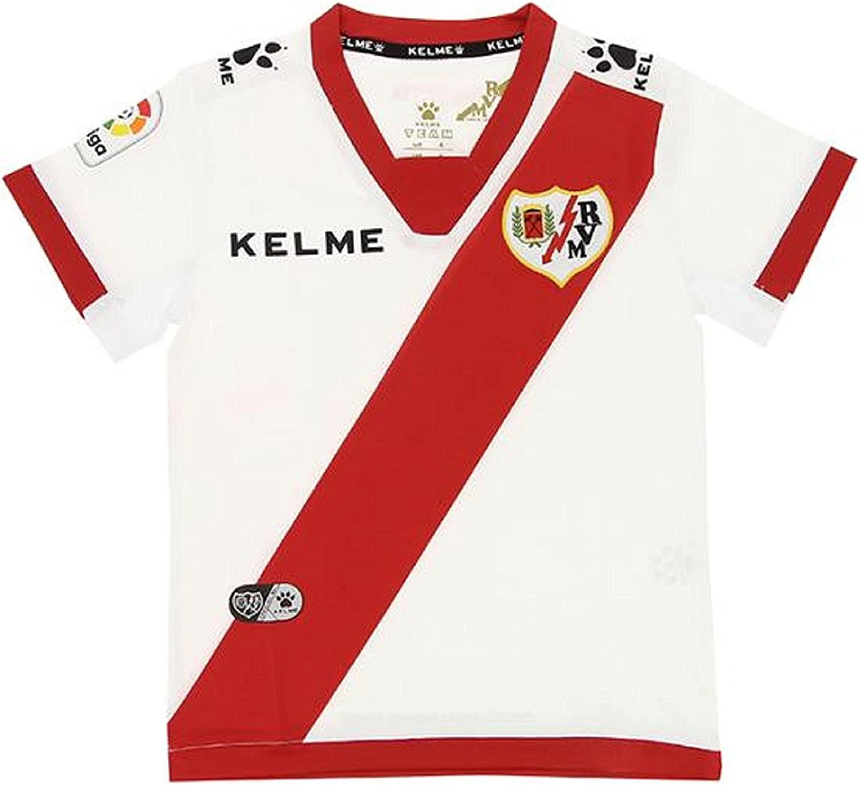 KELME Camiseta Oficial Rayo Vallecano - Temporada 2017/18 (S ...