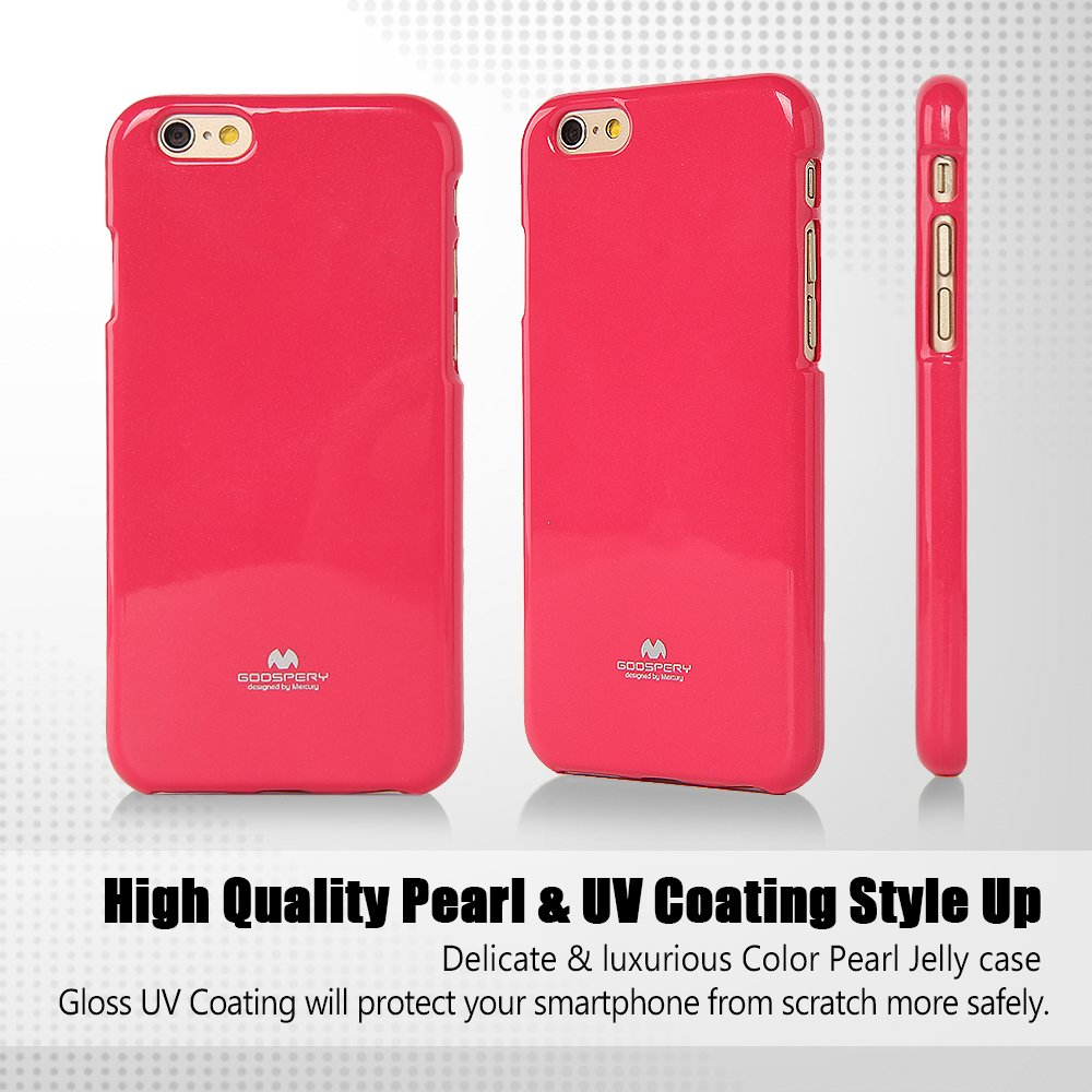 Iphone 6s Plus 6 Case Ultra Slim Goospery Pearl Jelly Mint Slight Glitter Caseanti Yellowing Discoloring Finish Shock Absorb Cover