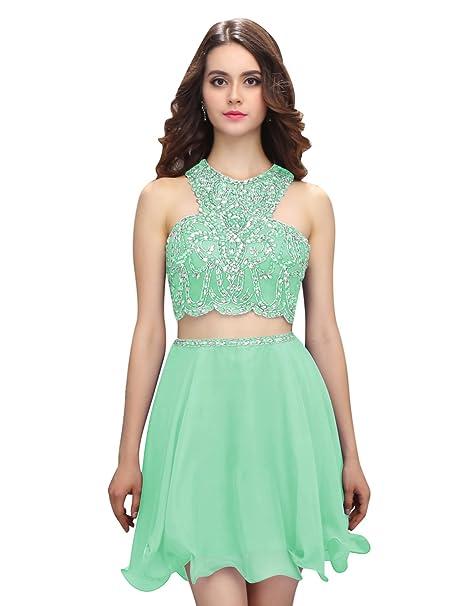 Dressystar Vestido Para Niña Mujer Color Verde Menta
