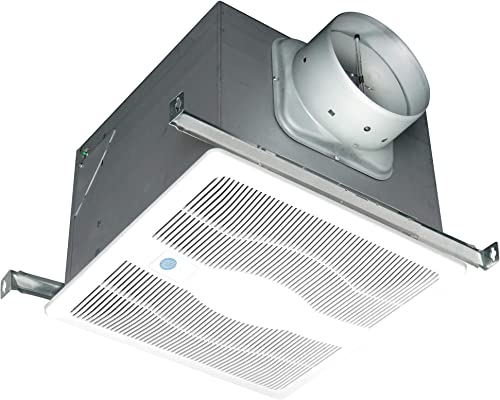 Air King White 150 CFM Single Speed, Motion and Humidity Sensing 0.6 Sone Ceiling Exhaust Bath Fan, ENERGY STAR