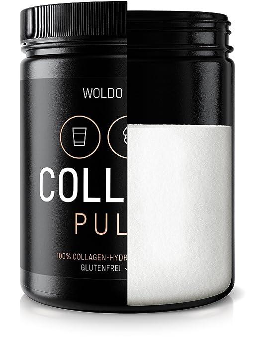 Colágeno Bovino Polvo Hidrolizado 100% Proteína - 500g Colágeno de vacuno: Amazon.es: Salud y cuidado personal