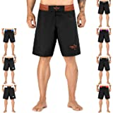 Elite Sports New Item Black Jack Series Fight Shorts - UFC, MMA, BJJ, Muay Thai, WOD, No-Gi, Kickboxing, Boxing Shorts