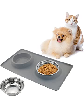 Popular Brand Zubita Comederos Para Gatos Cuencos Antideslizantes-plato Gatos De Acero Inoxi Pet Supplies Cat Supplies