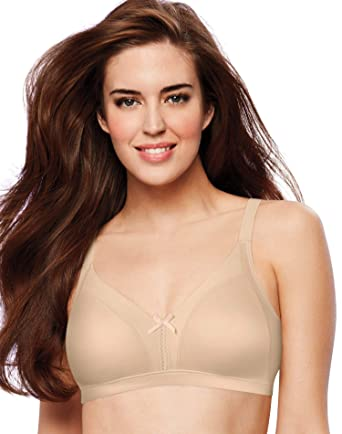 5409762fe2 Bali Soft Touch Back Smoothing Wirefree Bra at Amazon Women s Clothing  store