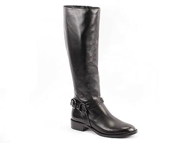 Via Spiga Brandice Riding Boot Leather Black (8)