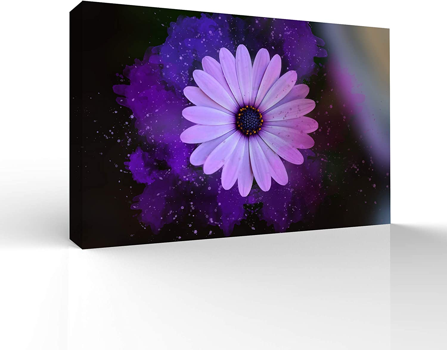 wall26 Canvas Wall Art Beautiful Flowers Pictures Home Wall Decorations for Bedroom Living Room Paintings Canvas Prints Framed - 16x24 inches