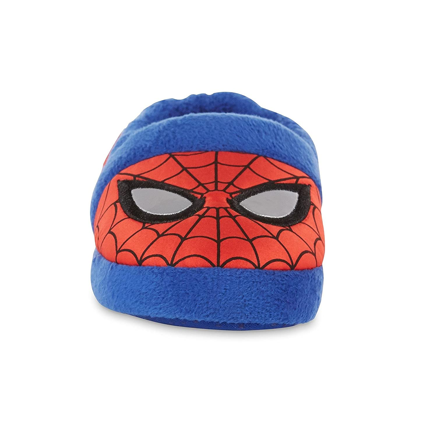 Marvel Spider-Man Toddler Boys Red and Blue Slippers