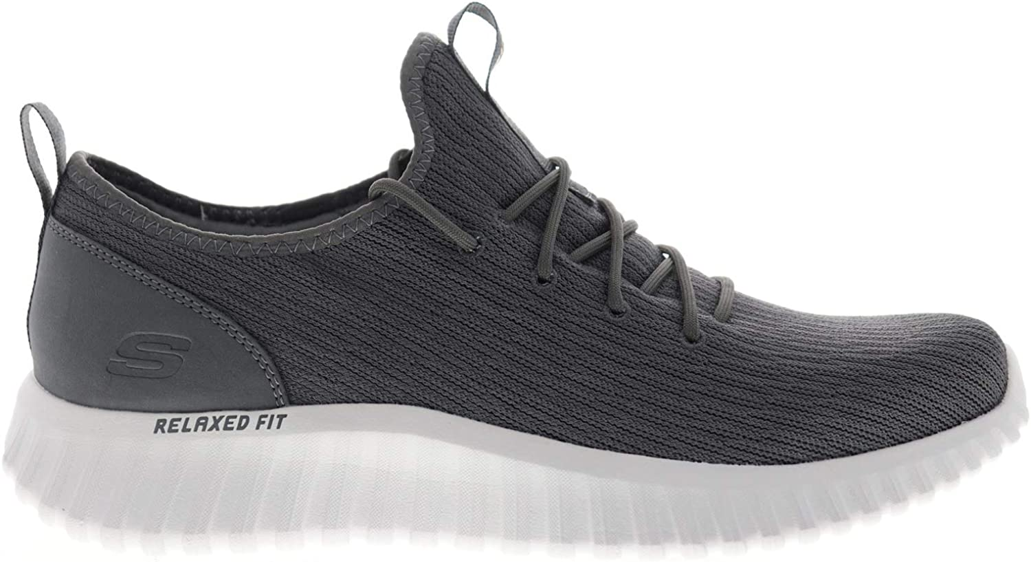 Skechers Deep Charge 2.0 Garnado Lifestyle Performance Zapatillas de moda para hombre, Negro (Carbón), 42.5 EU: Amazon.es: Zapatos y complementos