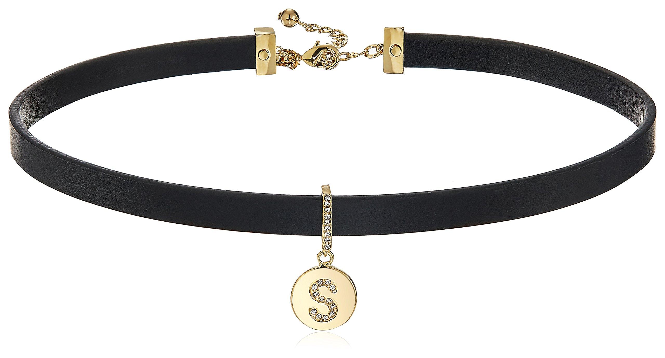 Kate Spade New York S Choker Necklace, 14'' + 2'' Extender