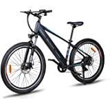 "Macwheel 27.5"" Electric Mountain Bike, Rear Hub Brushless 500W, Removable 480Wh 48V/10ah Lithium Battery, Shimano 7…"