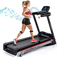 DR.GYMlee Folding 3 Manual Incline 300LB Weight-Capacity Smart Treadmill, Easy Assembly Electric Motorized Running…