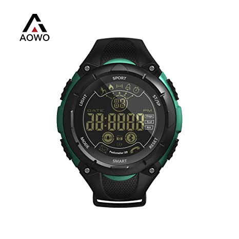 AOWO X7 Bluetooth Smartwatch Men Reloj Inteligente Digital IP68 a Prueba de Agua 5ATM Llamada SMS