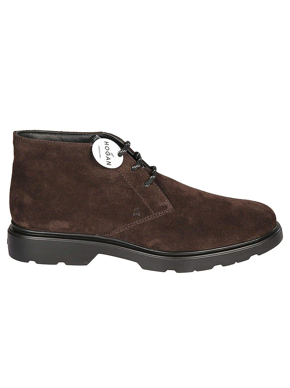 - Hogan Herren HXM3930W352JCG1117 Braun Wildleder Desert Stiefel