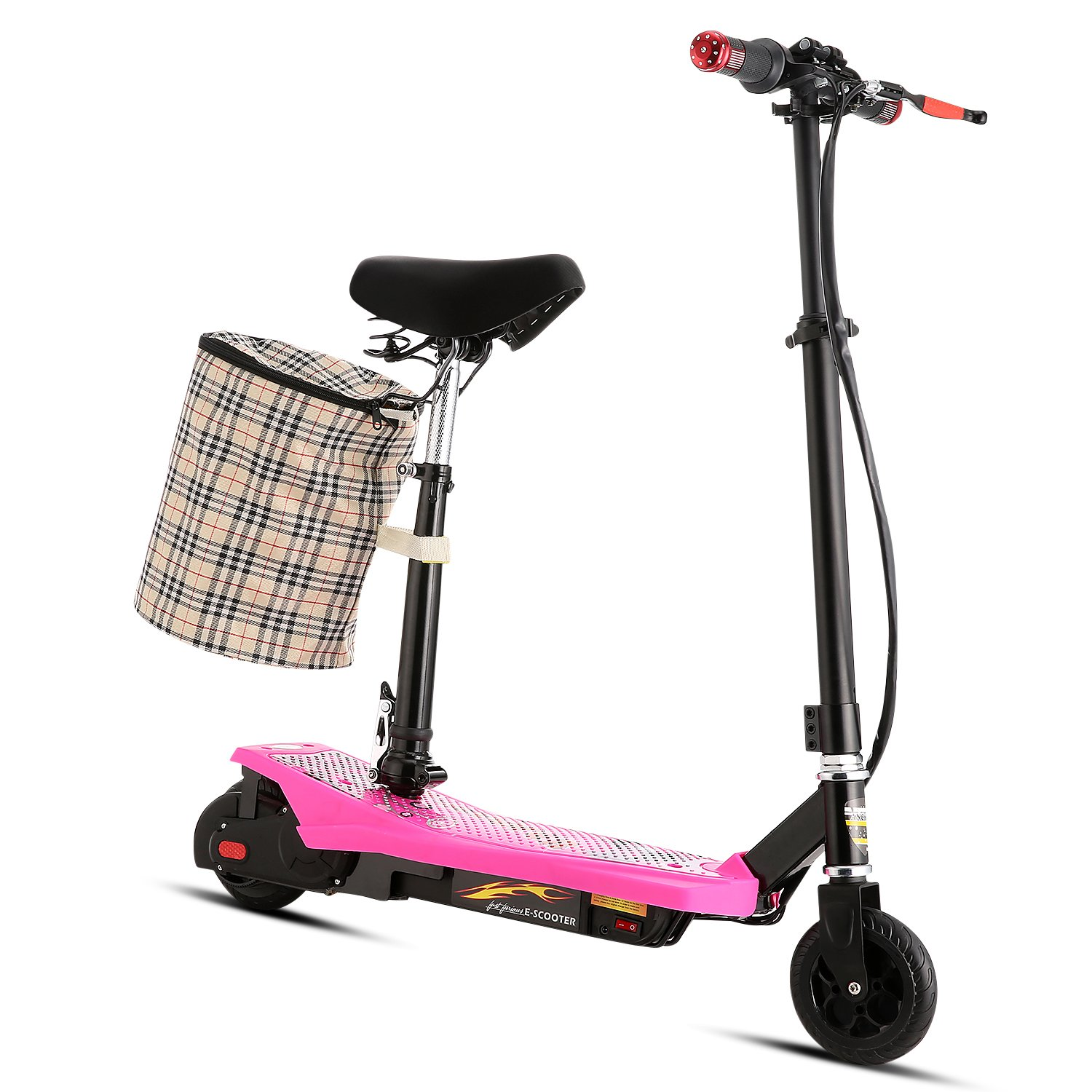 Ancheer S300 Mini Scooter eléctrico con asiento ABS ...