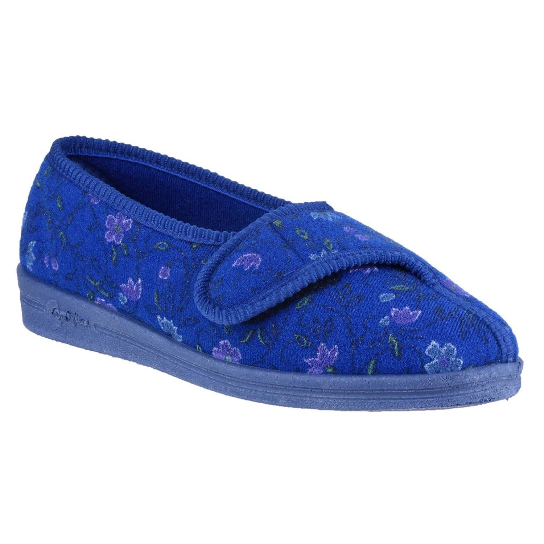 Comfylux Femmes Diana B00KW4CJVC Fermeture Velcro 19955 Pantoufles Chaussures Comfylux Chaussons Bleu e827c44 - jessicalock.space