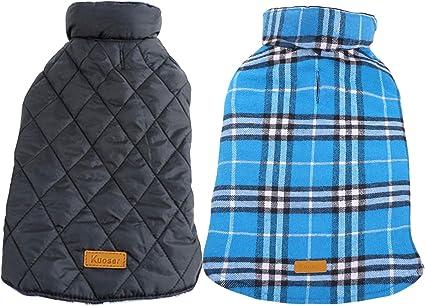 Kuoser Cozy Waterproof Windproof Reversible British Style