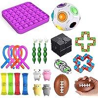 23 Piece Sensory Relief Toy Set, Relieve Stress And Anxiety Fidget Toys, Figetget Toys Fidget Toys, Fidget Box With…