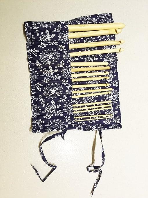 Cascacavelle 16 Unidades Agujas de Ganchillo de bambú 15cm/6 con Estuche (Kit de Agujas de 2mm - 12mm) - para Hacer Punto by: Amazon.es: Hogar