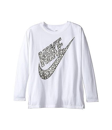 discount sale popular brand best shoes Amazon.com : Nike Big Girls' (7-16) Long Sleeve Nike Swoosh ...