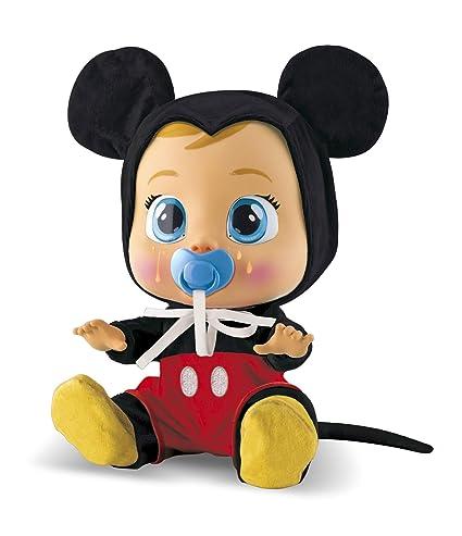 IMC Toys Muñeca Bebés Llorones, Mickey Mouse (97858)