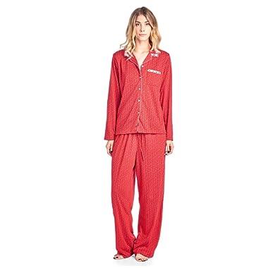 Casual Nights Women's Sleepwear Long Sleeve Floral Pajama Set