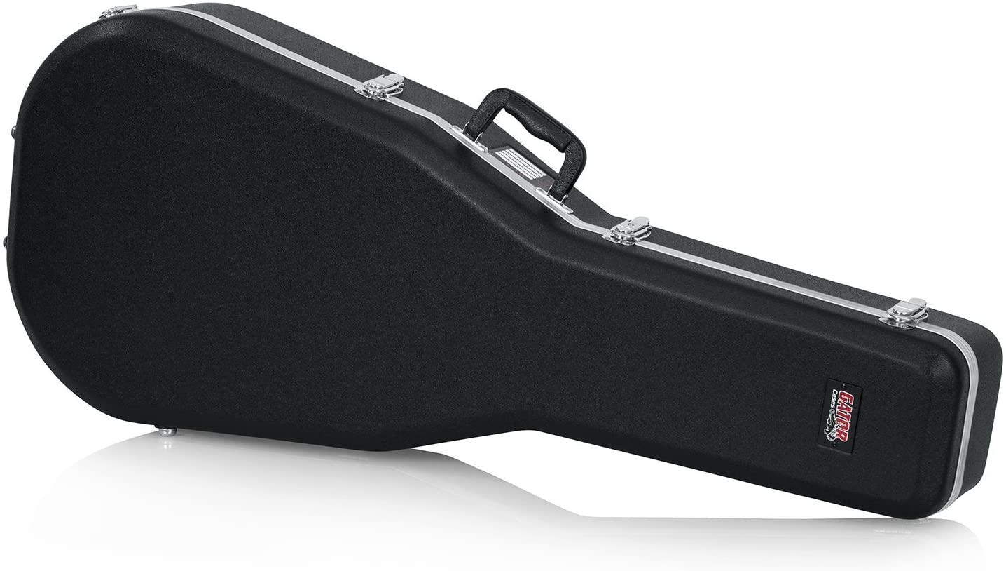 Gator Cases GC-Dread - estuches para guitarras (104,8 cm, 40,6 cm, 14 cm) Negro, Guitarra acorazado