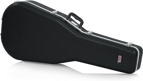 Gator Cases GC-Dread - estuches para guitarras (104,8 cm, 40,6 cm, 14 cm) Negro, Guitarra acorazado: Amazon.es: Instrumentos musicales