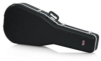 Gator Cases GC-Dread - estuches para guitarras (104,8 cm, 40,6 cm, 14 cm) Negro