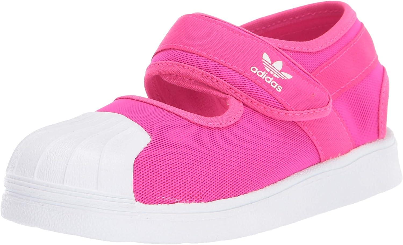 Superstar 360 Sandal, Shock Pink/White