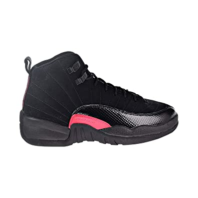56e3c3d2fed Nike Air Jordan 12 Retro Big Kids'/Men's Shoes Black/Dark Grey/