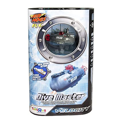 Air Hogs Dive Master Remote Controlled Mini Submarine