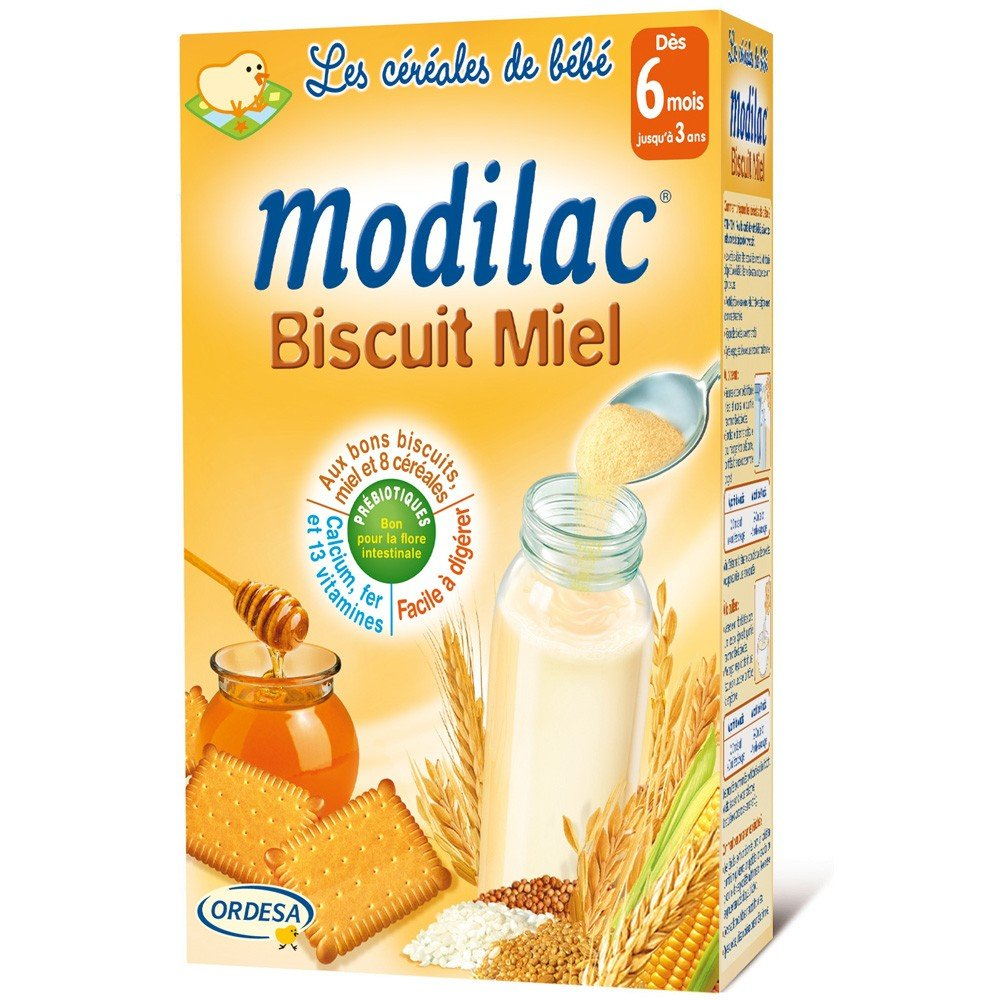 Modilac Honey Biscuit from 6 Months to 3 Years 300g 8371A