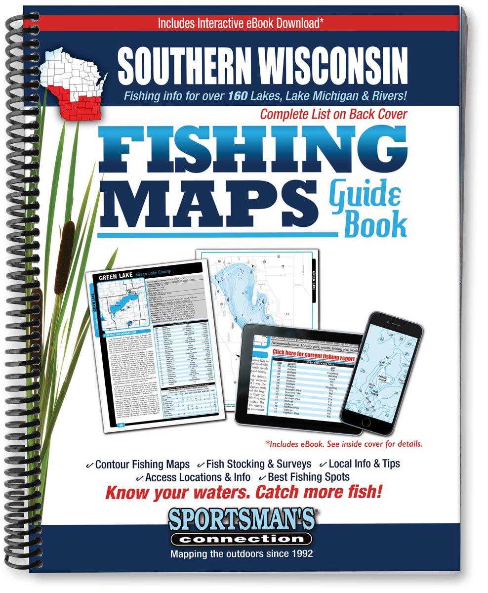 Southern Wisconsin Fishing Map Guide PDF