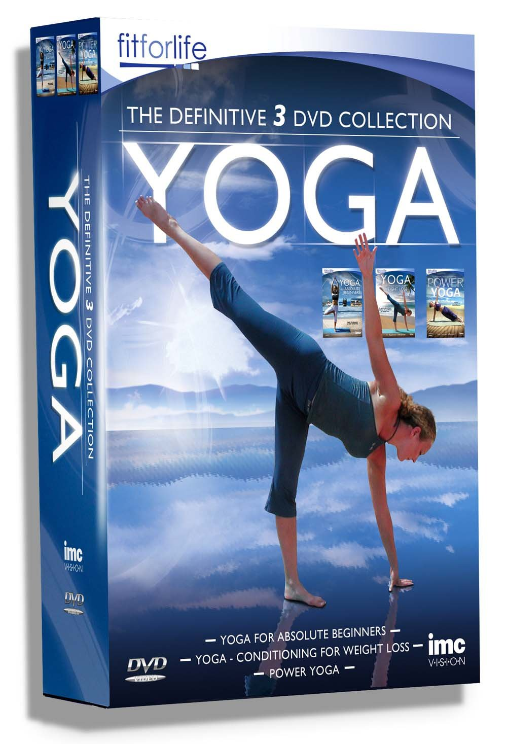 Yoga The Definitive Triple DVD Box Set - Containing Yoga for ...
