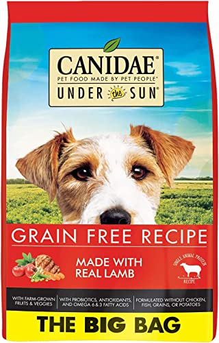 CANIDAE Under The Sun Grain Free Dry Dog Food for Puppies, Adults Seniors