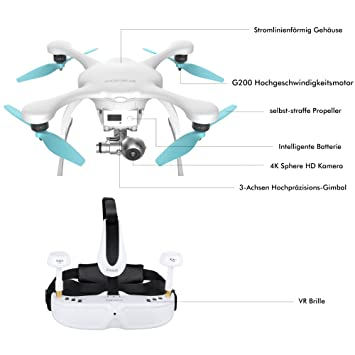 EHANG Dron Ghost Drone, 2.0 VR: Amazon.es: Electrónica