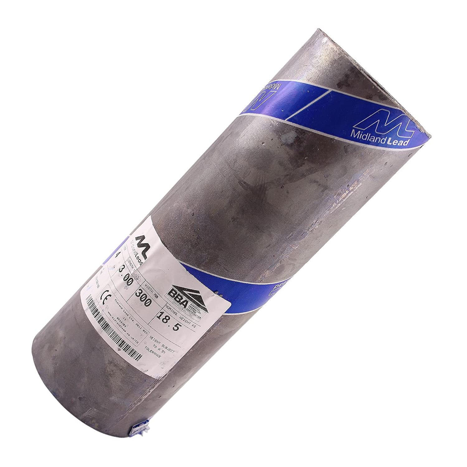 3.5m of 300mm Wide 12 inch Code 4 Lead Flashing Roll Roof Roofing Repair Midland Lead