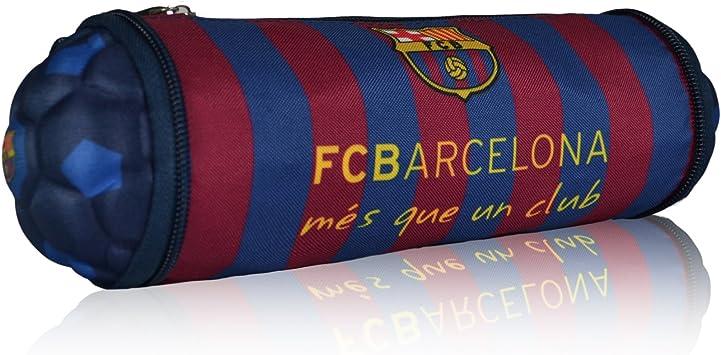 Maccabi Art F.C. Barcelona - Estuche para lápices, diseño de balón de fútbol: Amazon.es: Juguetes y juegos