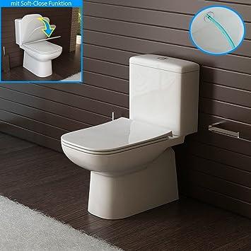 Stand Wc Mit Taharet Bidet Geberit Spülgarnitur Toilette