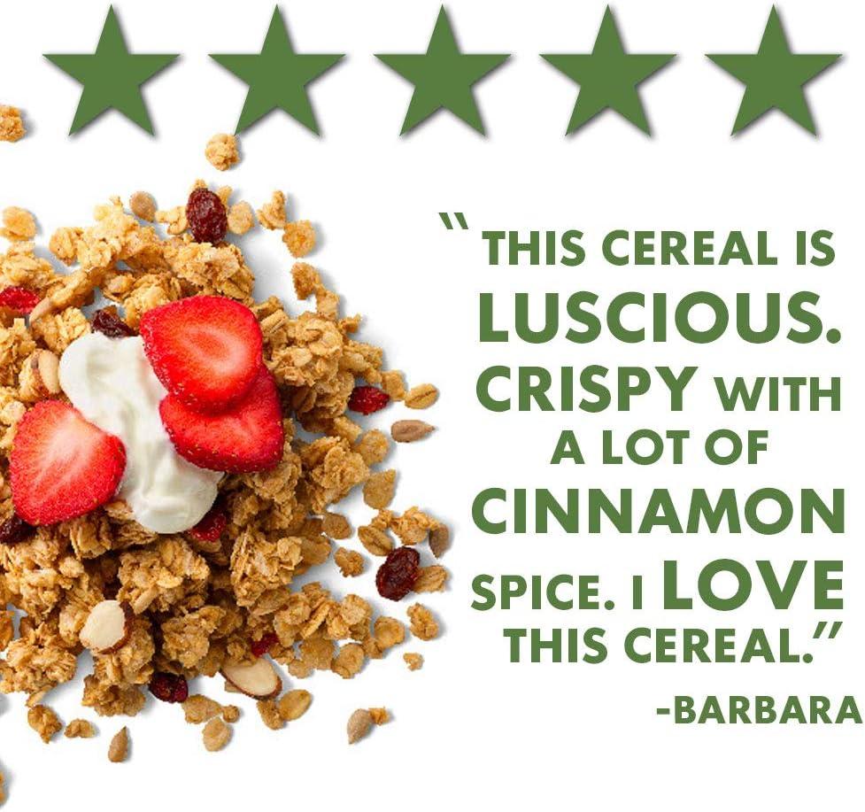 Amazon.com: Cascadian Farm Organic Granola, Cereal de canela ...