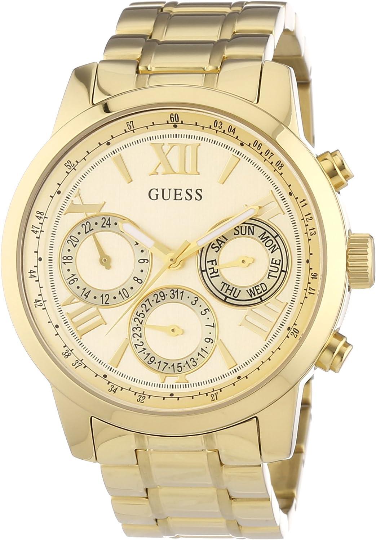 Guess Reloj de Pulsera W0330L1: GUESS: Amazon.es: Relojes