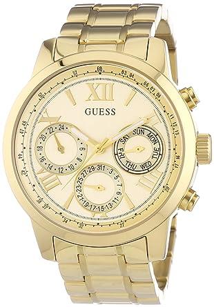 Reloj oro mujer guess